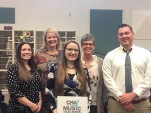 CMA Foundation Teacher of Excellence Award