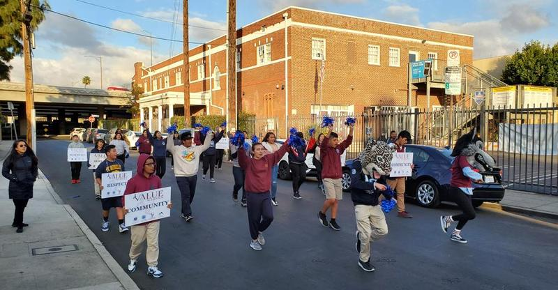 One year ago today, Value Schools students marched for MLK, Jr. Day