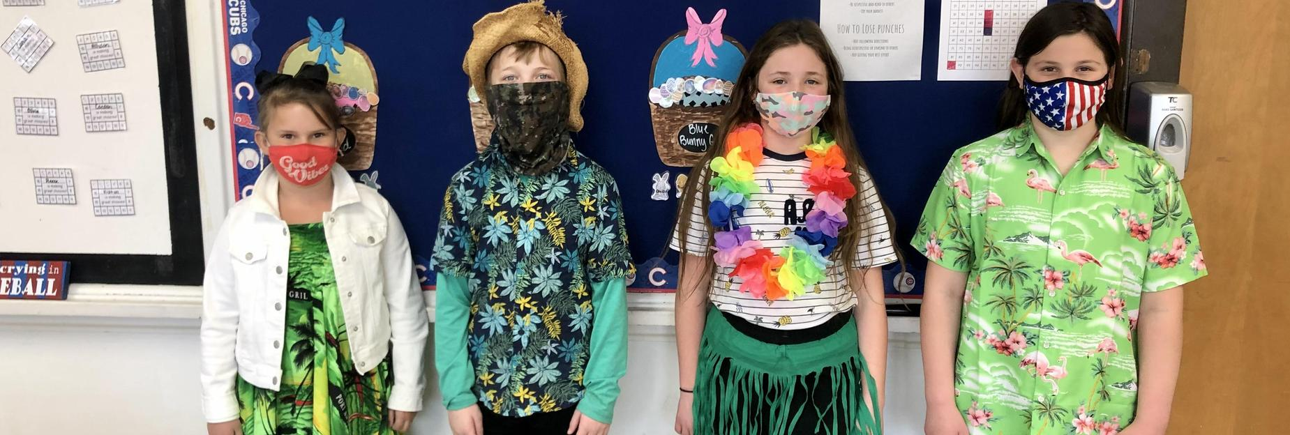 Dress up day at CCIS