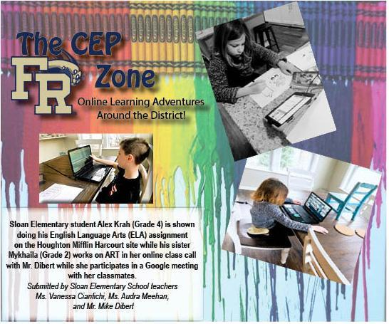 The CEP Zone flyer featuring Sloan Elementary