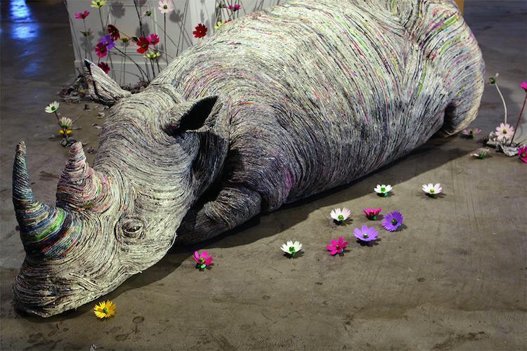 Rhino by Chie Hitotsuyama