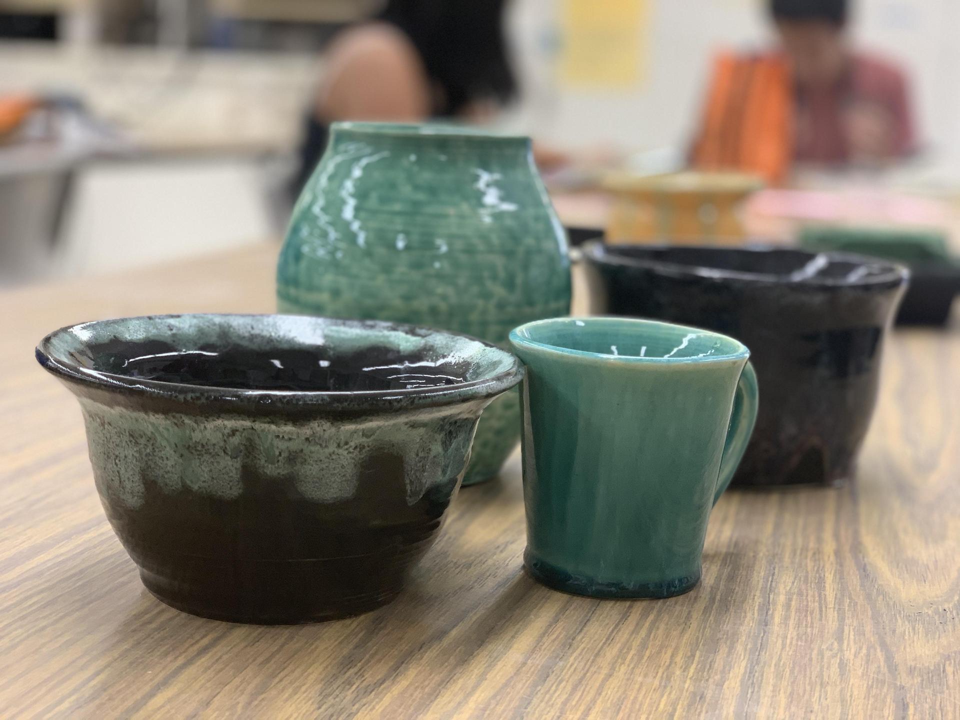 Assorted Ceramic pieces