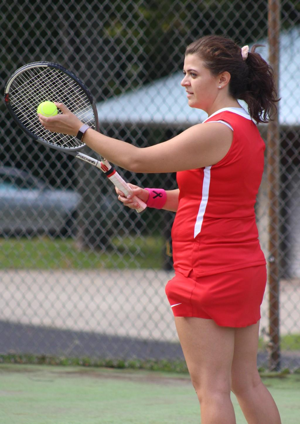 Varsity Girls' Tennis vs Oakland Catholic - 082817