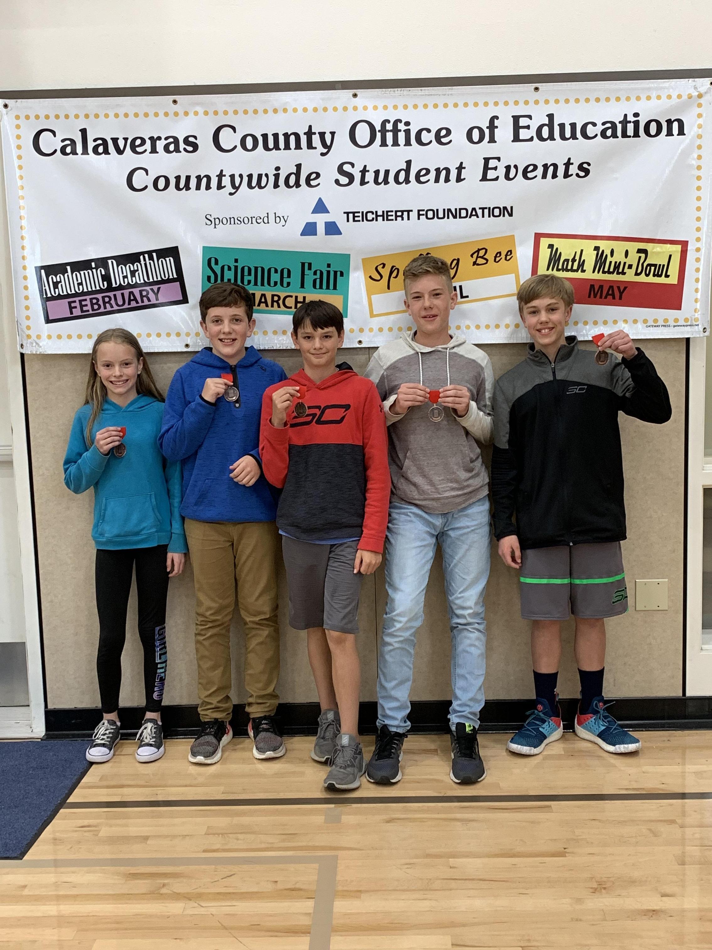 6th grade Bomb winners