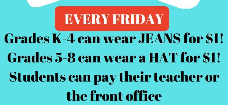 Announcing Jeans and Hats FRIDAY Featured Photo