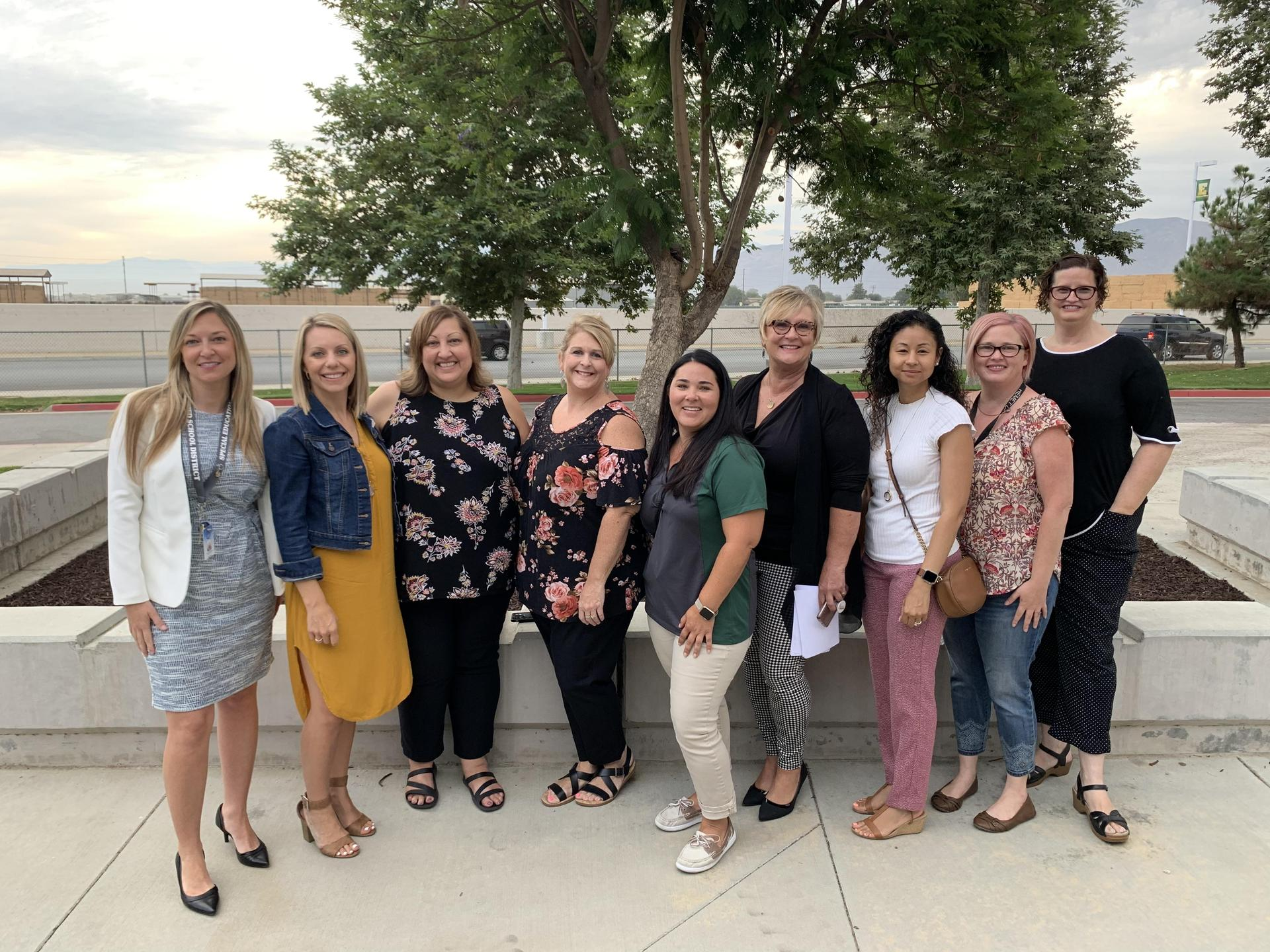 Special Education Leadership Team Photo - 2019