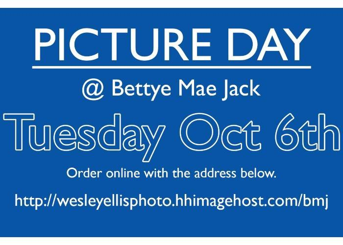 School Picture Day scheduled for Tuesday, October 6th Featured Photo