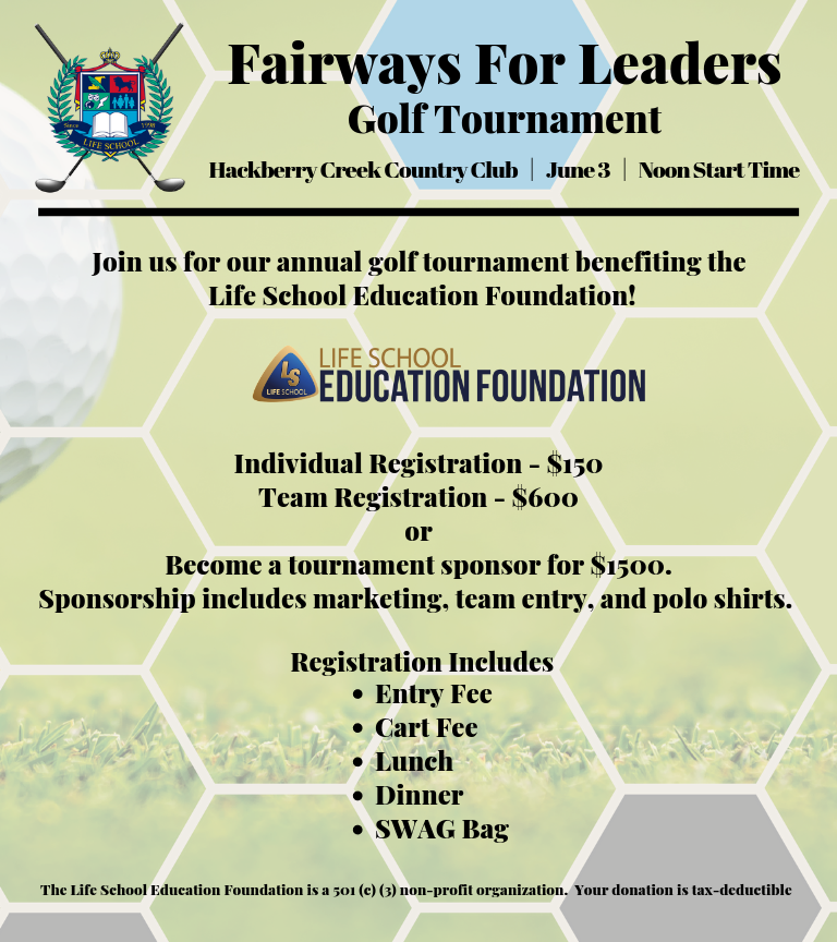Fairways for Leaders Golf Tournament