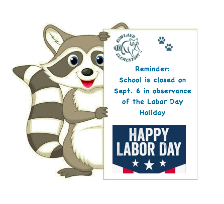 School is closed on September 6 for the Labor Day Holiday Featured Photo