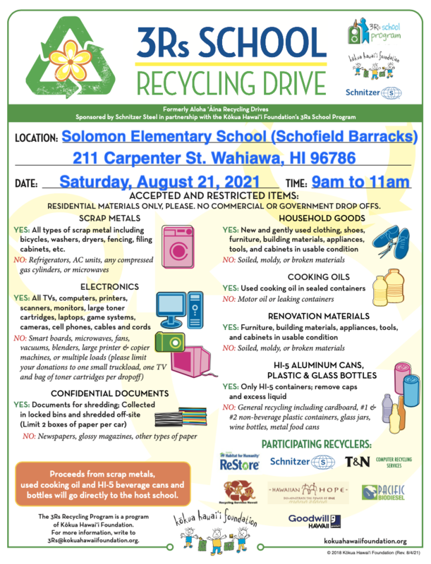 Recycling Drive