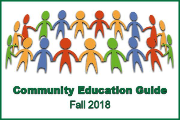 Fall 2018 Community Education Guide Thumbnail Image