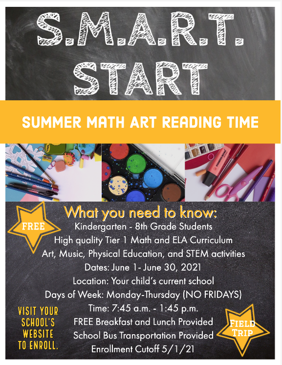 S.M.A.R.T. Start Summer Program Thumbnail Image