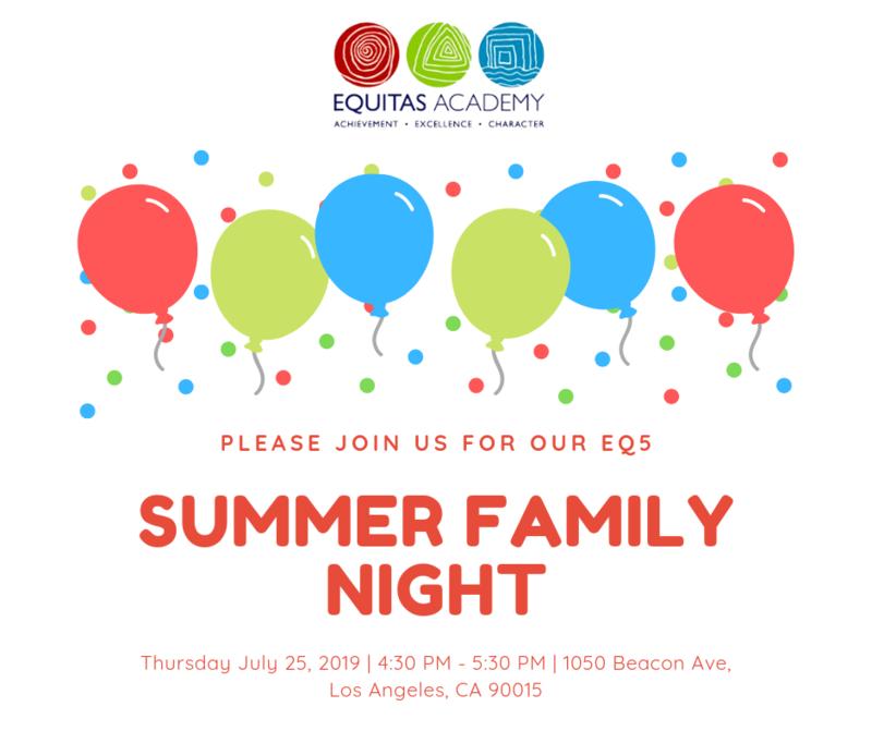 Summer Family Night! / Primera Noche de Familia! Featured Photo