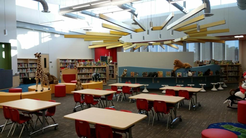 Lamar Elementary Library