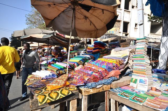 Market at Dakar, Senegal