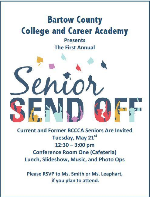 Senior Send Off (music, slideshow and more..)