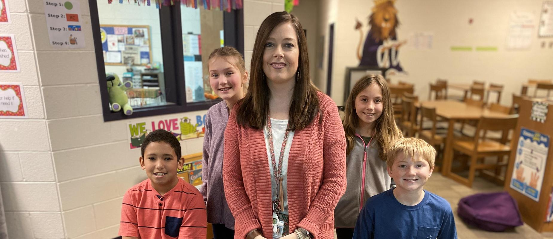 Sabrina Price Named Media Specialist of the Year!