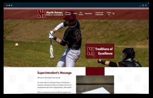 NHPS homepage website