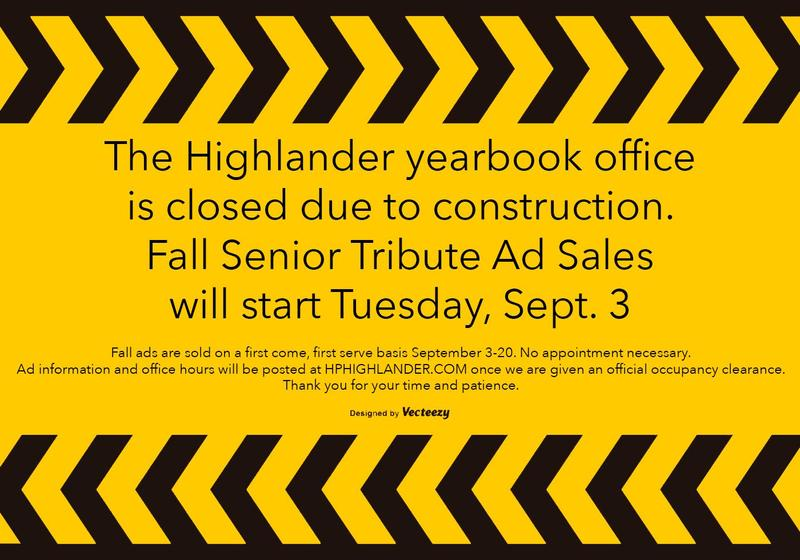 Senior Tribute Ad Sales Moved to Sept. 3 Featured Photo