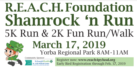 Shamrock N' Run! Click here for info on how to sign up. Thumbnail Image