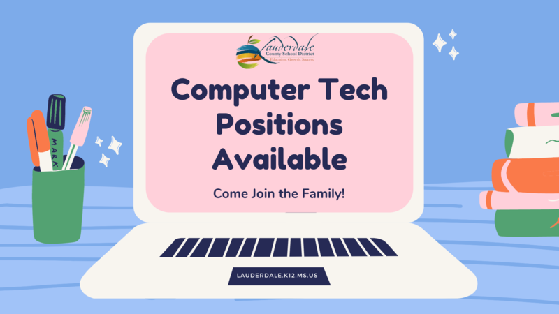 Computer Technician Positions Available
