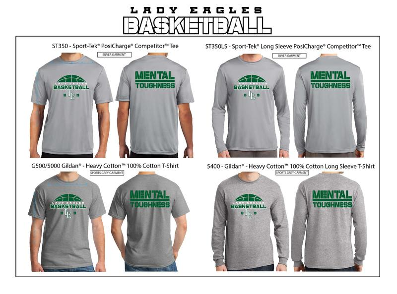 2018-2019 Lady Eagles Basketball Shirts for Sale Thumbnail Image