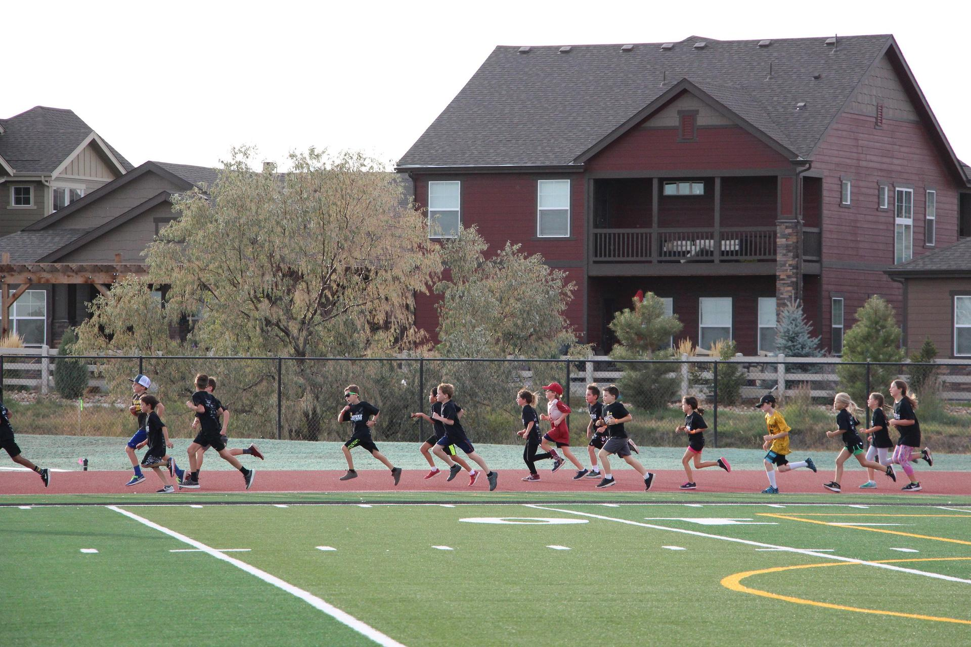 MGR Runners on track