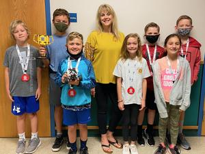 HLES Hiking Foxes First Lego League team