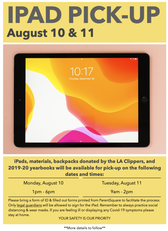 iPad Distribution August 10