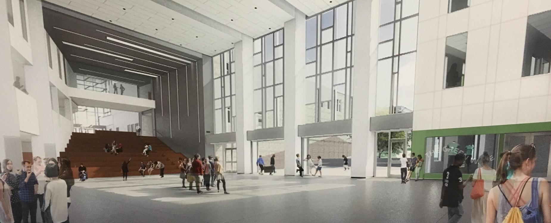 DHS CTC drawing mezzanine