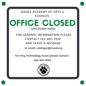 Office Closed Flyer