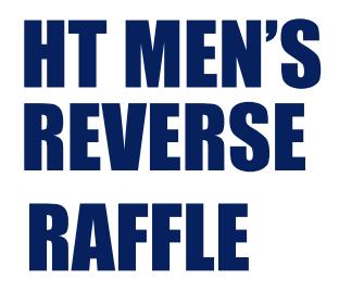 CYO Men's Reverse Raffle Thumbnail Image