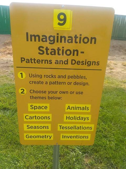 Imagination Station sign at Snake River Elementary
