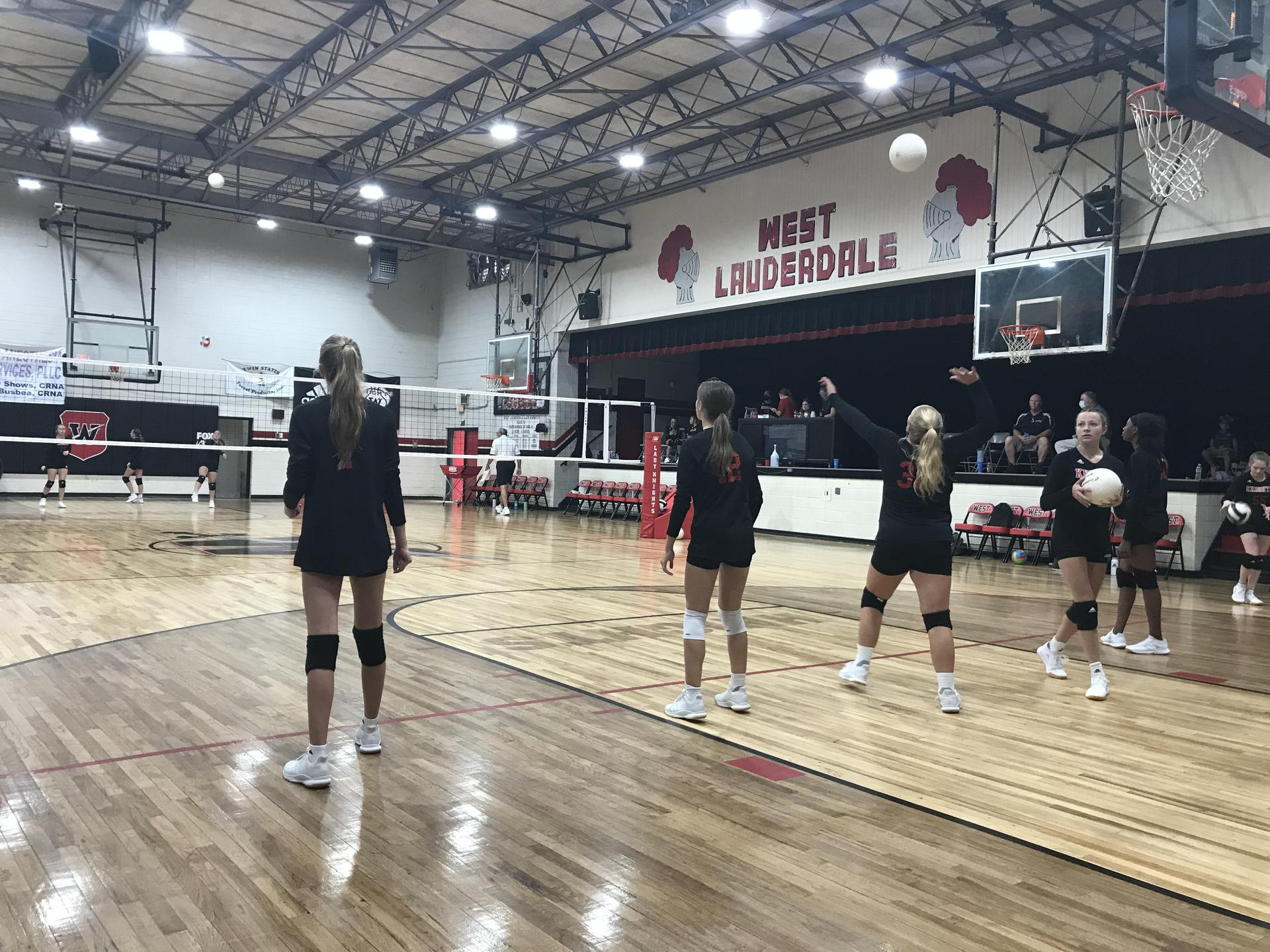West Lauderdale High School Volleyball Team