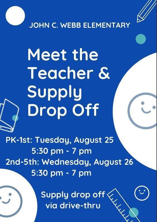 Meet The Teachers & Supply Drop-Off Featured Photo