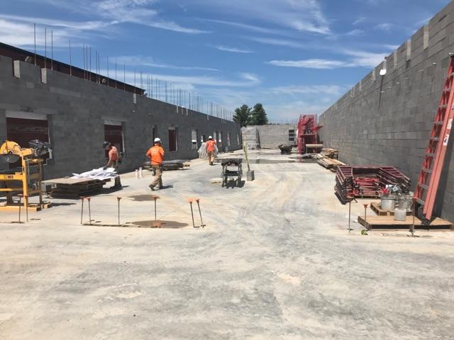 08/23/2017 Construction to new addition