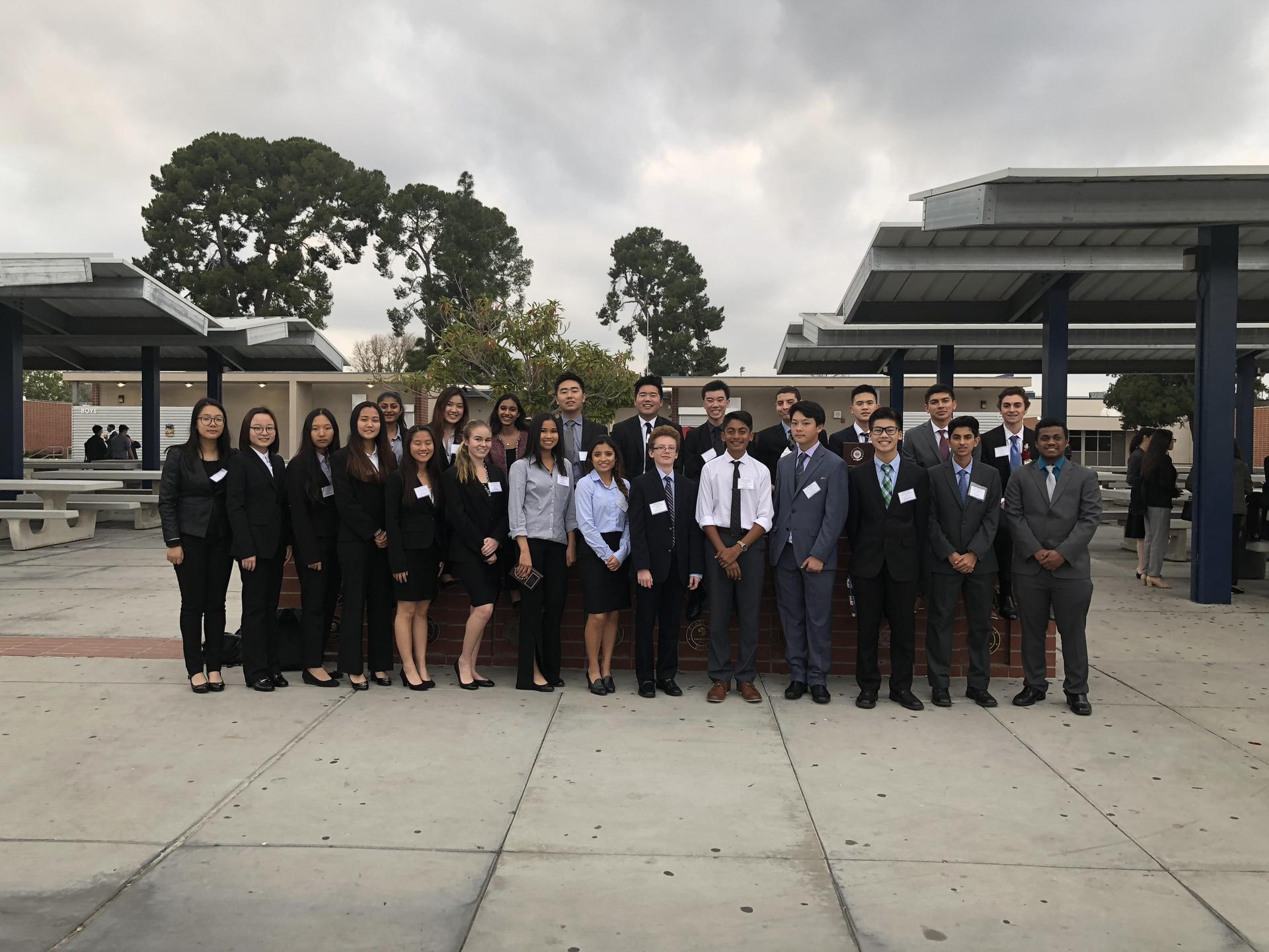 FBLA at Southern Section Conference