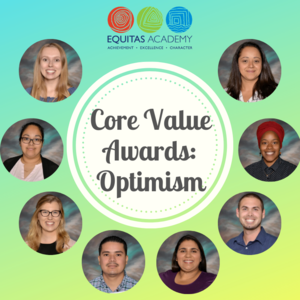Picture of january core value awards winners