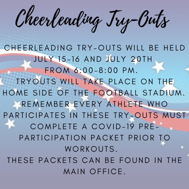 cheer tryouts