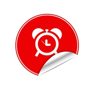 clock sticker