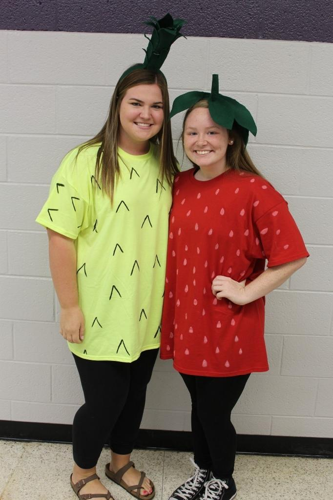 Dynamic Duo Day: Pineapple and Strawberry