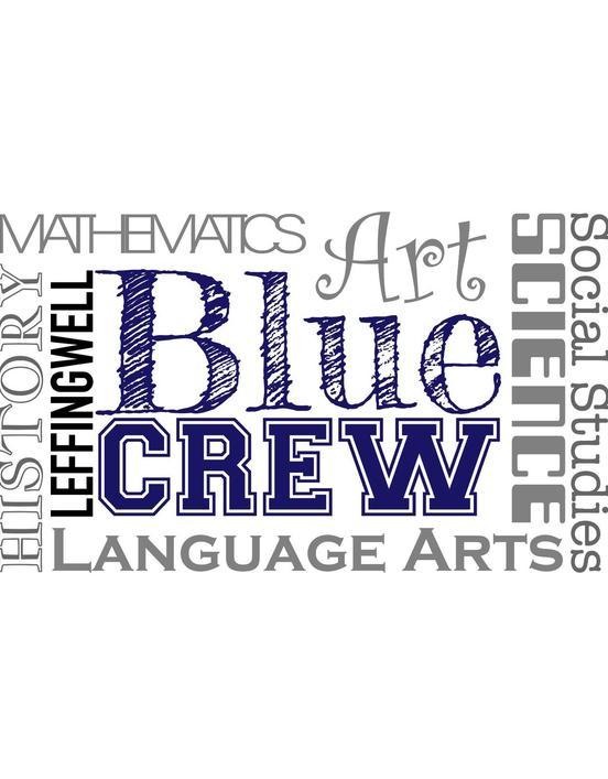 Leffingwell 2019-20 Logo - Leffingwell Blue Crew