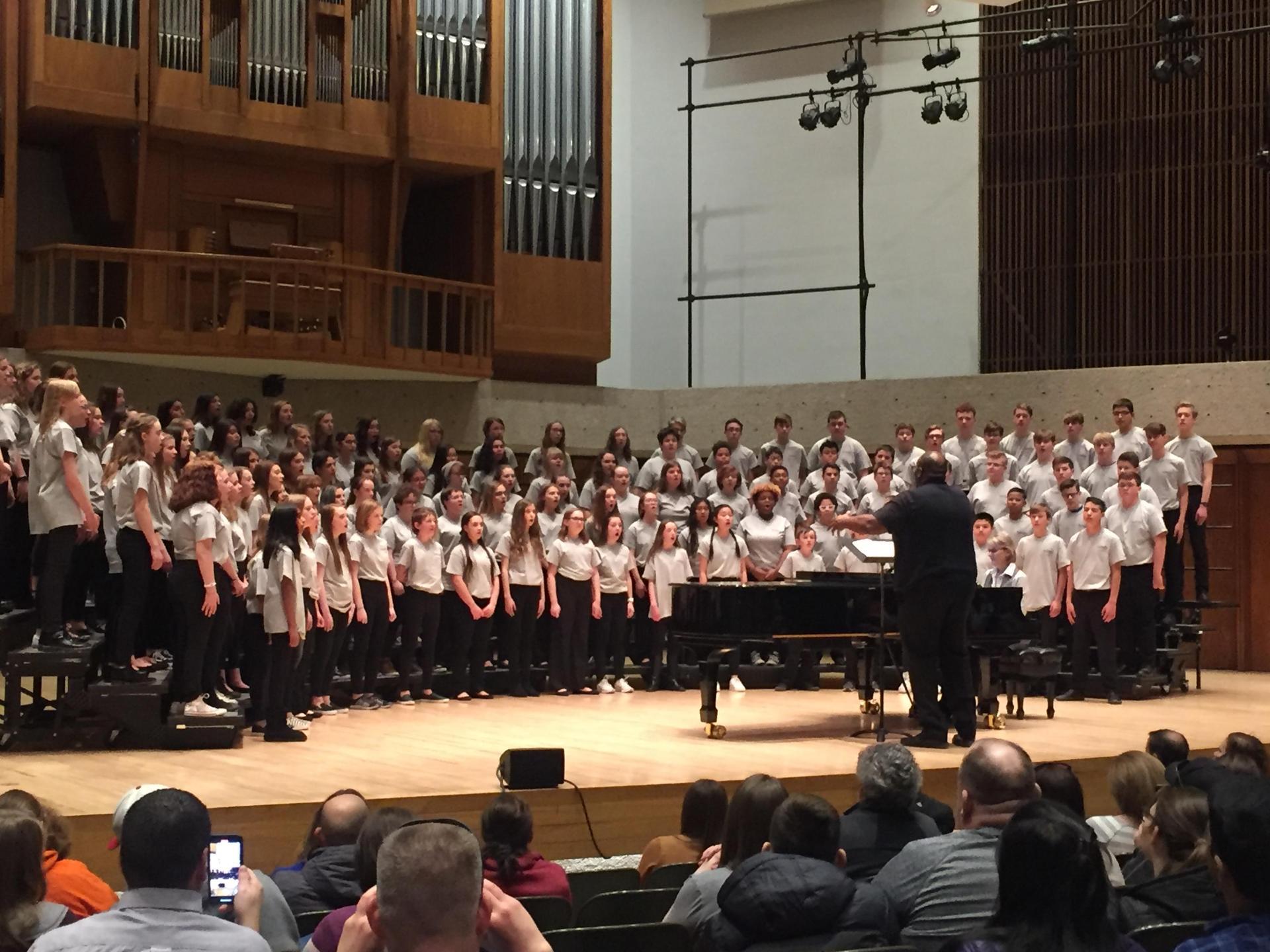 UNO Honor Choir performance