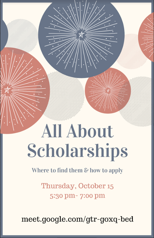 All About Scholarships, October 15 Featured Photo