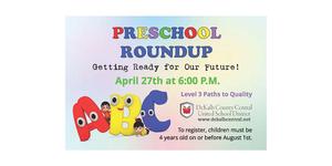 Preschool Roundup