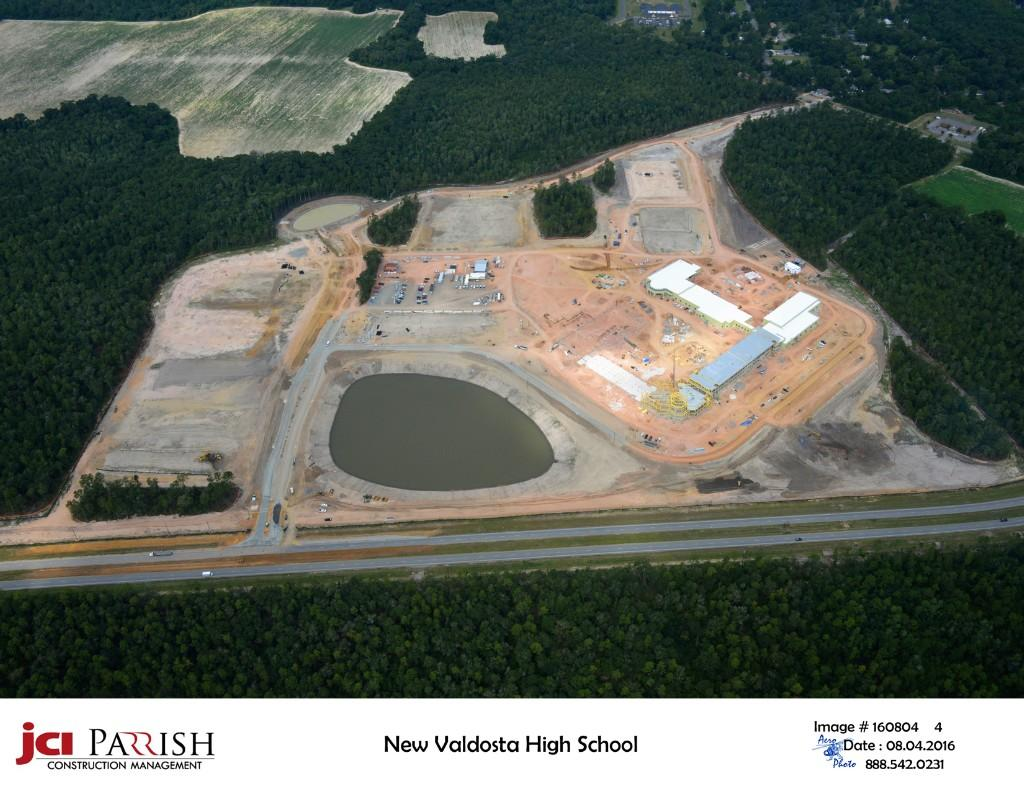 Image of new VHS property at early stage of construction.