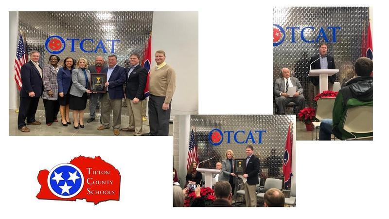 TCS and TCAT award
