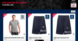 Lions' Den Online Store