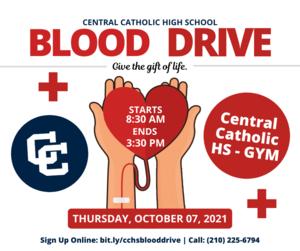 Blood Drive @ CCHS - October 7