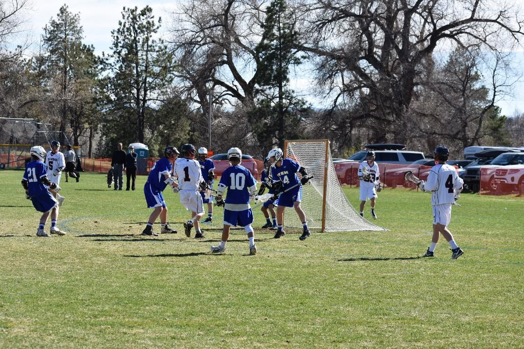 Lacrosse players take charge
